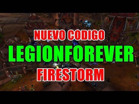 Wow: LegionForever Nuevo Codigo FIRESTORM