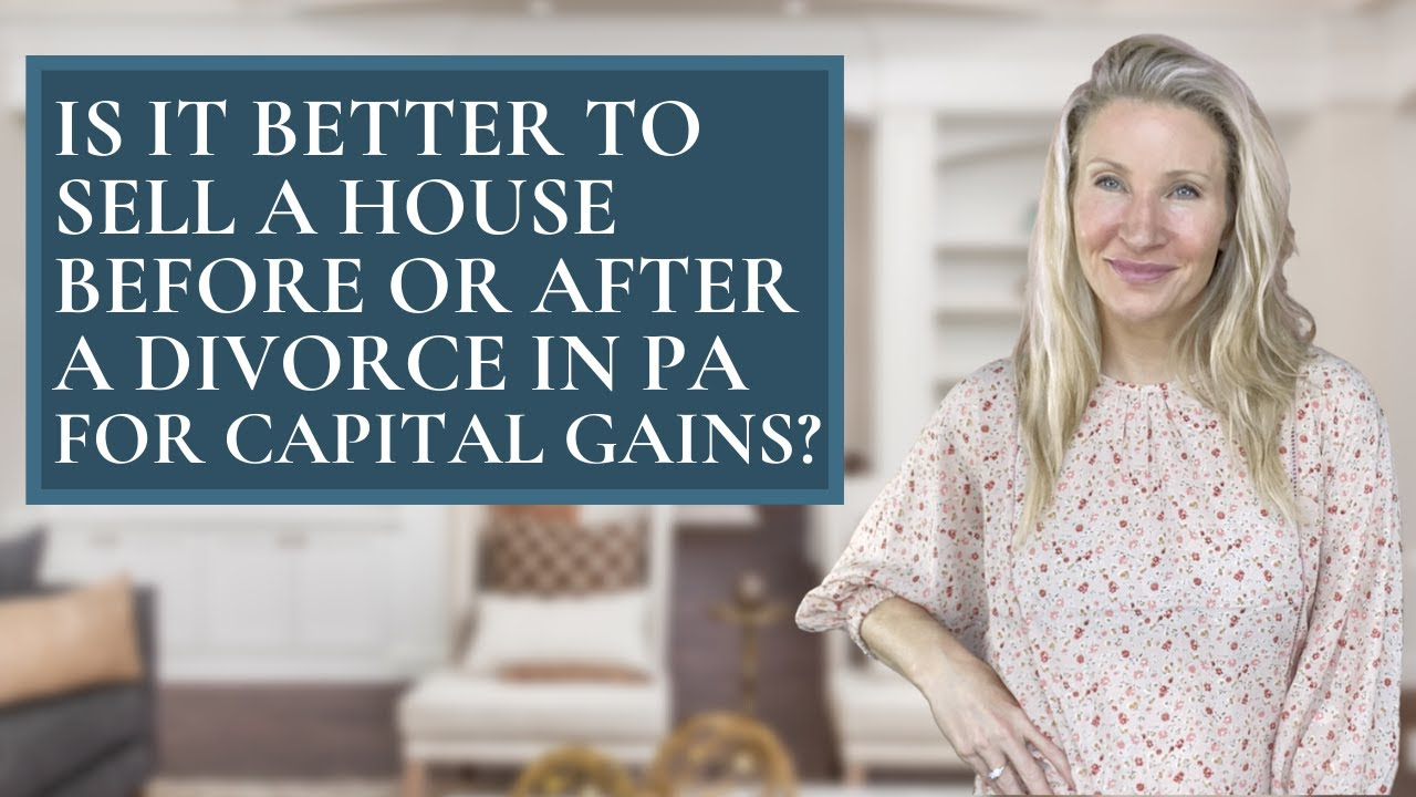 Taxes after Selling your Home During Divorce with PA Realtor Kimmy Rolph