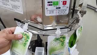 스파우트 반자동 포장기…