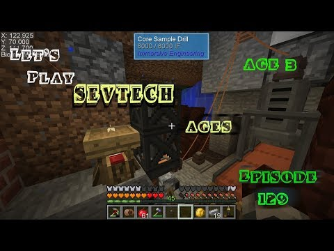 SevTech Ages EP19 Drawer Controller Core Sample Drill