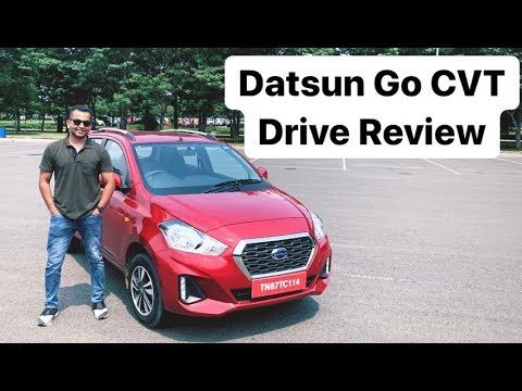 2019 Datsun Go CVT Automatic - Drive Review (Hindi + English)
