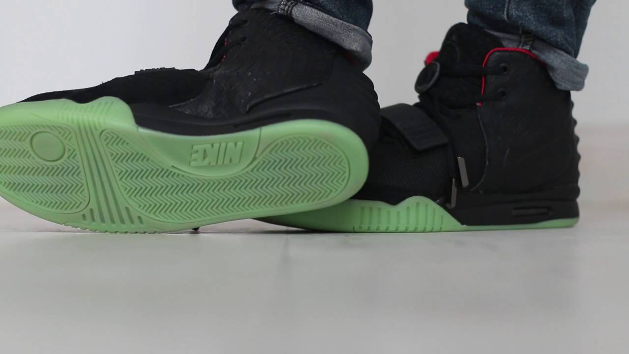 8a5d987626f4e Nike air yeezy 2 Solar red on foot by yeezynation - YouTube