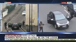 Witness Describes Security At Charlie Hebdo's HQ