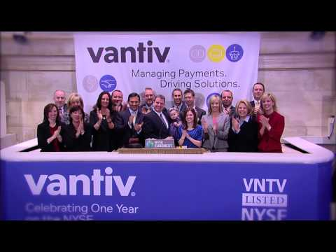 Vantiv rings the NYSE Opening Bell