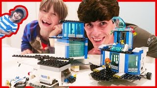 Lego City Police MOC and Lego Life App Review