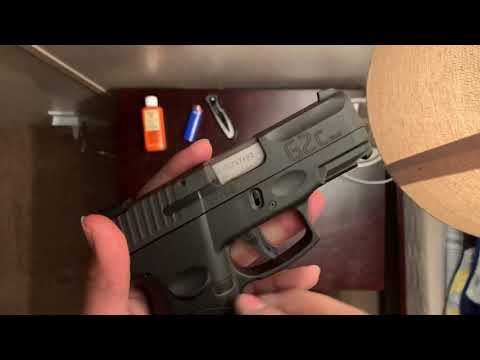 Taurus pt111 g2c 9mm disassembly and cleaning