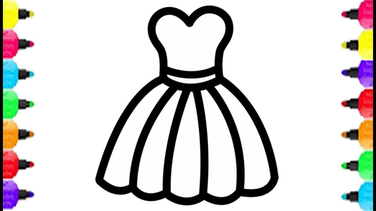 Lady Accessories Coloring Page Coloring With Glitter Color