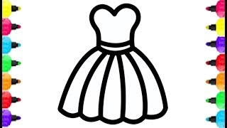 Lady Accessories Coloring Page Coloring With Glitter Color Learn Colors For Kids Youtube
