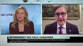 Excuses officielles pour le traitement des Italo-Canadiens durant la Seconde Guerre mondiale