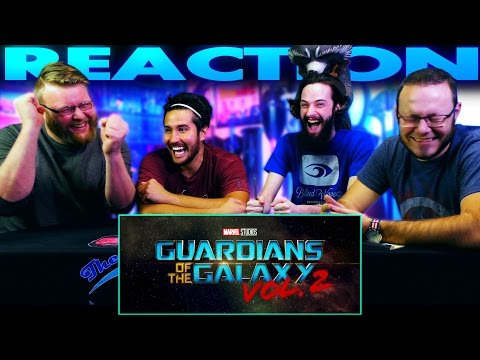 Guardians Of The Galaxy 2 - Official Teaser Trailer REACTION!!