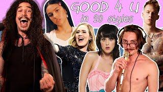 Olivia Rodrigo - good 4 u in 20 Styles