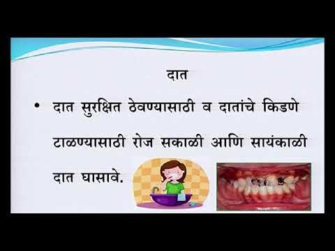 Marathi U9l1 Personal Hygiene Youtube