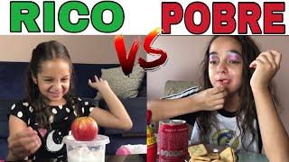 RICO VS POBRE FAZENDO AMOEBA / SLIME #6