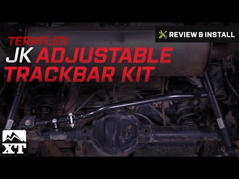 "Jeep Wrangler Teraflex JK Adjustable Trackbar Kit, 0-6"" Lift (2007-2017 JK) Review & Install"