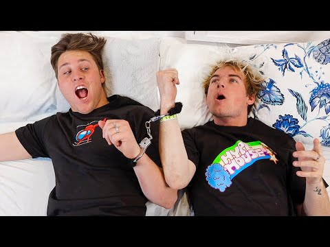 BEST FRIENDS HANDCUFFED FOR 24 HOURS!!