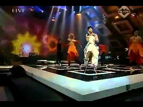 (라이브) 인도내시아어 가수 (Agnes Monica) - Matahariku