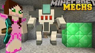 Minecraft: MINING MECHS CHALLENGE! (MINING, DIGGING, ROCKETS, & SELF DESTRUCTING) Custom Command