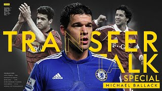 Michael Ballack on choosing Chelsea over Man Utd, missing out on Barca and Real & CL heartbreak