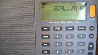 209 kHz Mongolian Radio Mar.24,2018 2234 UTC thumbnail