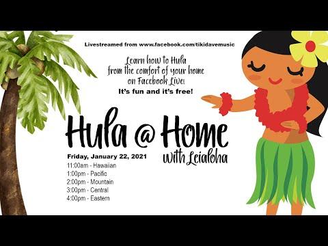 Hula @ Home with Leialoha January 22, 2021