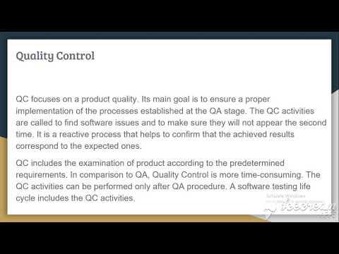 Introduction -Software QA,QC & Testing (Bangla)