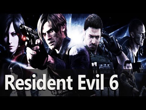 Resident Evil 6 #01 Tańczymy Karaoke z GugaGejmerka