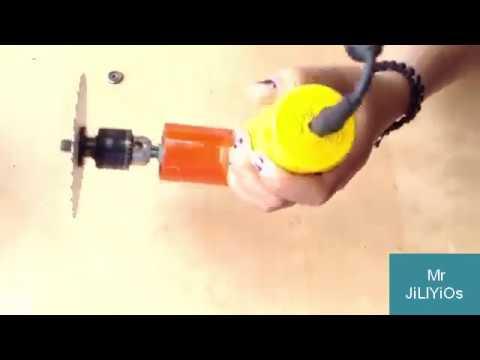 How To Make A Mini Dremel Tool | Mini Dremel Tool At Home #1