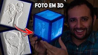 Como imprimir uma foto em 3D