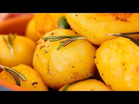 Идеальный запечённый картофель [Мужская Кулинария]