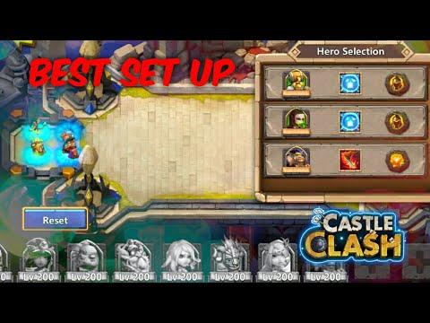 Castle Clash: Unbeatable Squad Showdown Set Up