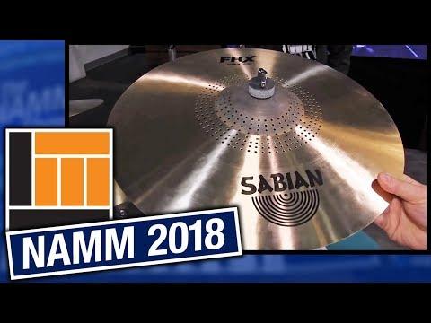 L&M @ NAMM 2018: Sabian Cymbals