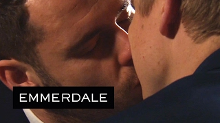 Emmerdale - Aaron and Robert Get Married All by Themselves