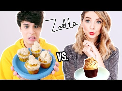 i tried following a ZOELLA cooking tutorial