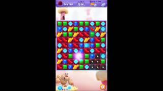 Candy Crush Friends SAGA level 74 ~ Yeti Mode