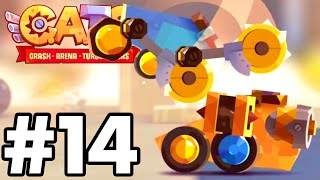 FULLY UPGRADED BEST BUILD EVER...!!!!| C.A.T.S | Crash Arena Turbo Stars Gameplay Part 14