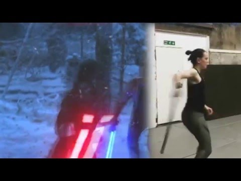 Download Youtube: Kylo Ren Fighting Style + Daisy Ridley Training Video Comparison