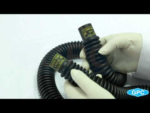 Corrugated Breathing Tubes - Black Rubber | Manufacturer India