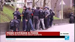 Prise d'otages à Paris :
