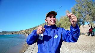 ψαρεμα τεχνικες spinning στην θαλασσα