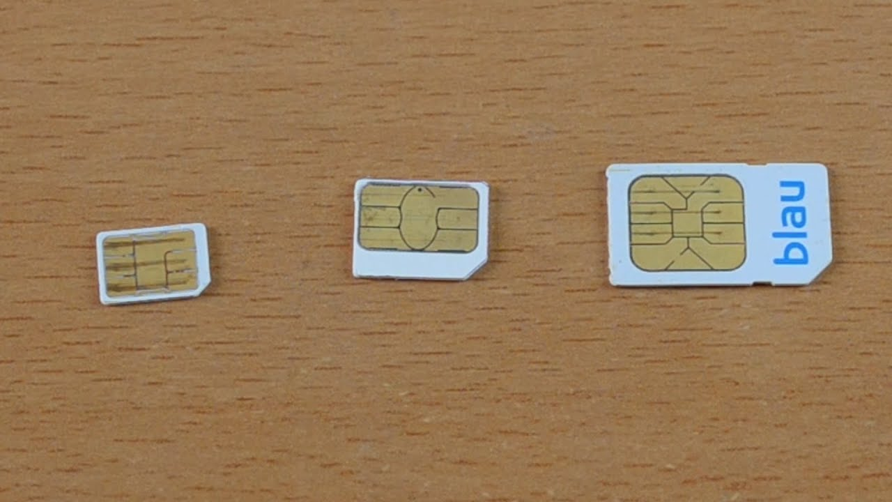 What Sim Card does the iPhone 5s use? - YouTube