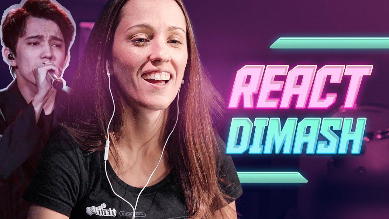 PROFESSORA DE CANTO REAGE AO DIMASH | Vocal Coach com Natália Sandim
