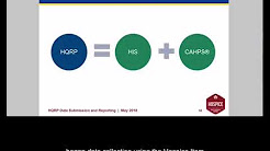 May 2018 Hospice Quality Reporting Program (HQRP) Data Submission and Reporting Webinar