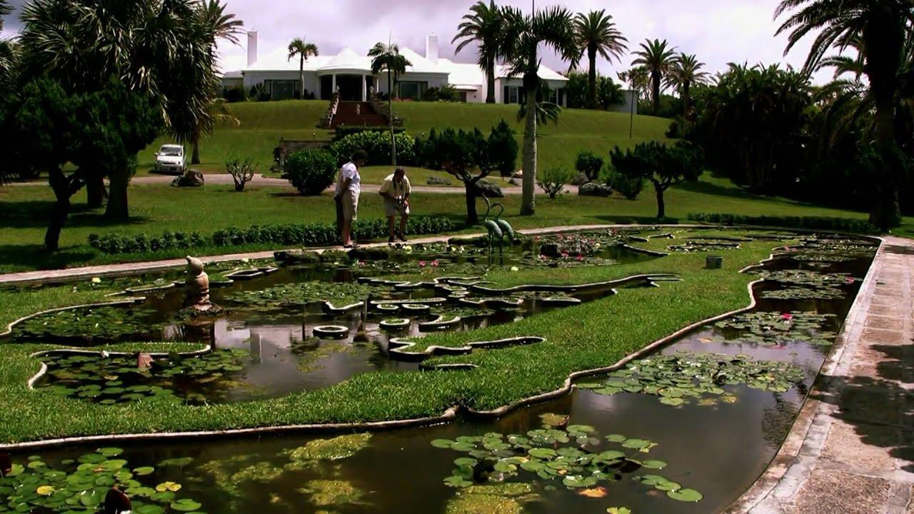 Palm Grove Garden Bermuda, Ariel Sands Hotel And Beach Club - YouTube