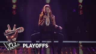 "Playoffs #TeamSole: Agostina canta """"Man! I feel like a woma..."