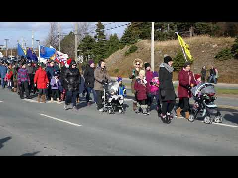 Events - Armistice Day, Conception Bay South - 2018 - 100th Anniversary Parade