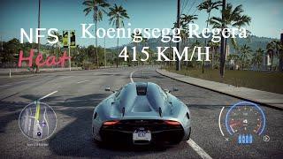 Need For Speed Heat Koenigsegg Regera  Fully Upgraded Gameplay
