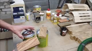Обзор масел / Нюансы и Преимущества/ Столярная мастерская