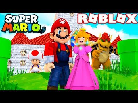 BECOMING MARIO IN ROBLOX! (Roblox Super Mario 3D)