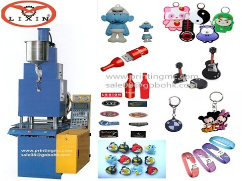 LX P008 Liquid Plastic Automatic Injection Machine