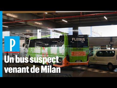 Coronavirus : Les Passagers D'un Car Flixbus Venant D'Italie Confinés à Lyon